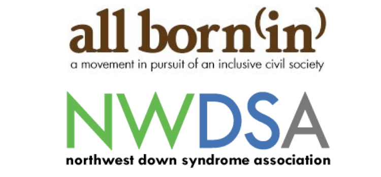 All born (in) and NWDSA logos stacked