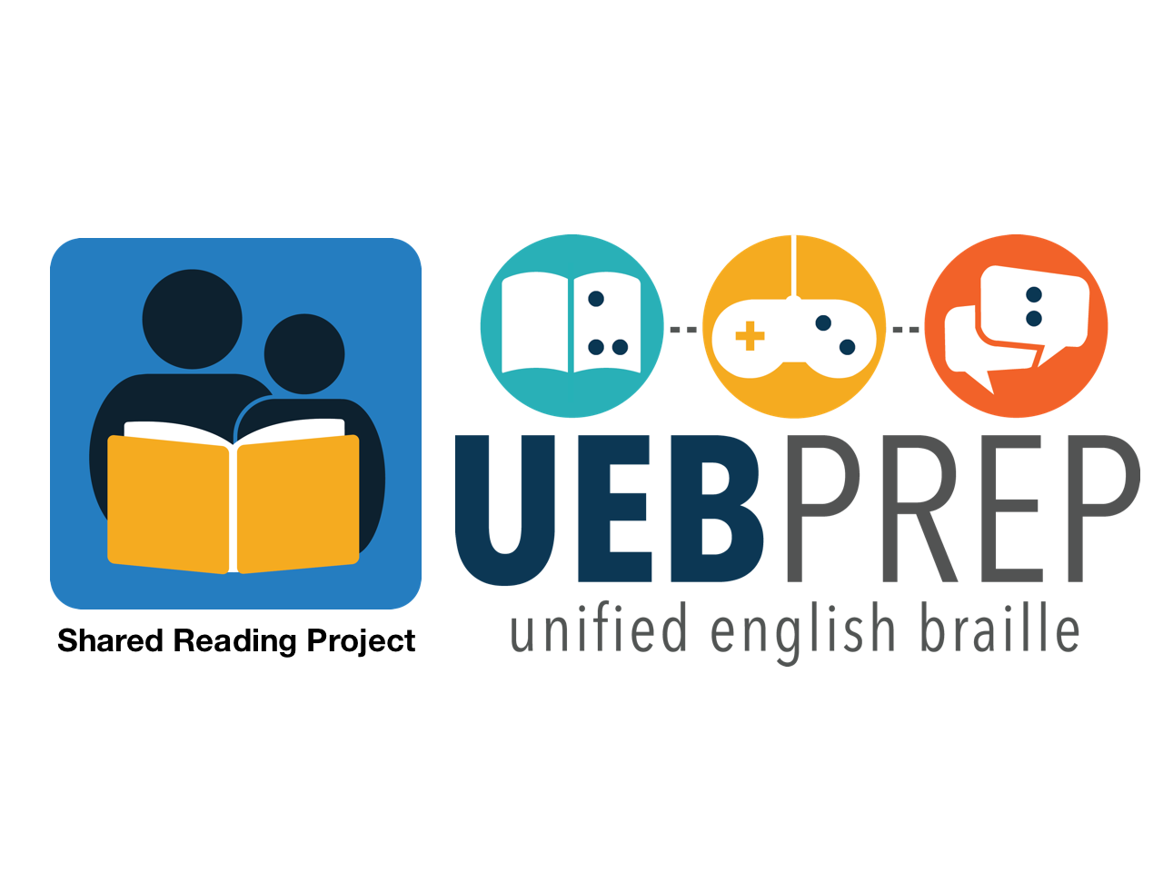 Shared reading and ueb prep project logos